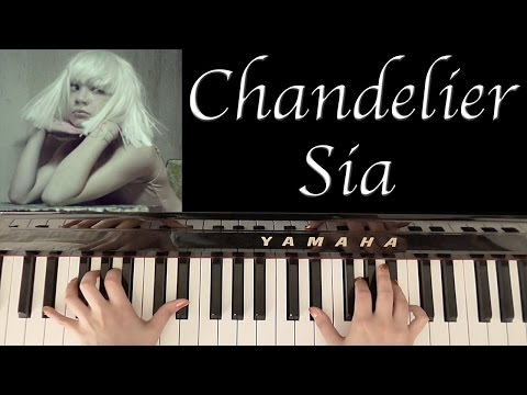 HOW TO PLAY: CHANDELIER - SIA