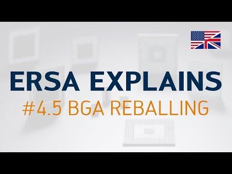 Ersa Explains #4.5 – BGA Reballing