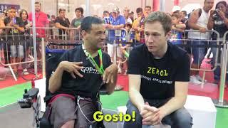 Lado B na Brasil Game Show com o Thiago Leifert!
