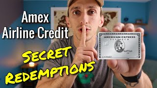 Amex Airline Credit TIPS AND TRICKS For EASIER Redemption