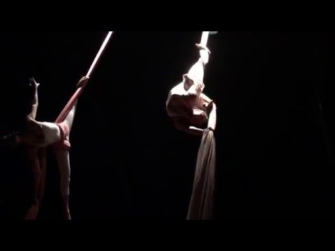 Lara Fabian - The Dream Within performed on Aerial Silks by AirAligned