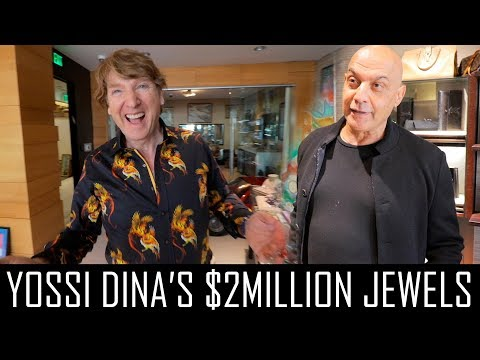 YOSSI DINA SPENT $2MILLION ON JEWELRY!!!