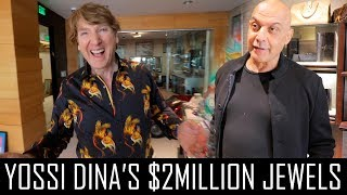 YOSSI DINA SPENT $2MILLION ON JEWELRY!!!