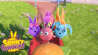 Cartoons For Children | Sunny Bunnies COOK A BURGER | NEW SEASON | Funny Cartoons For Children