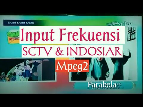 CARA SEDERHANAINPUT SCTV & INDOSIAR Mpeg2 RECEIVER PARABOLA