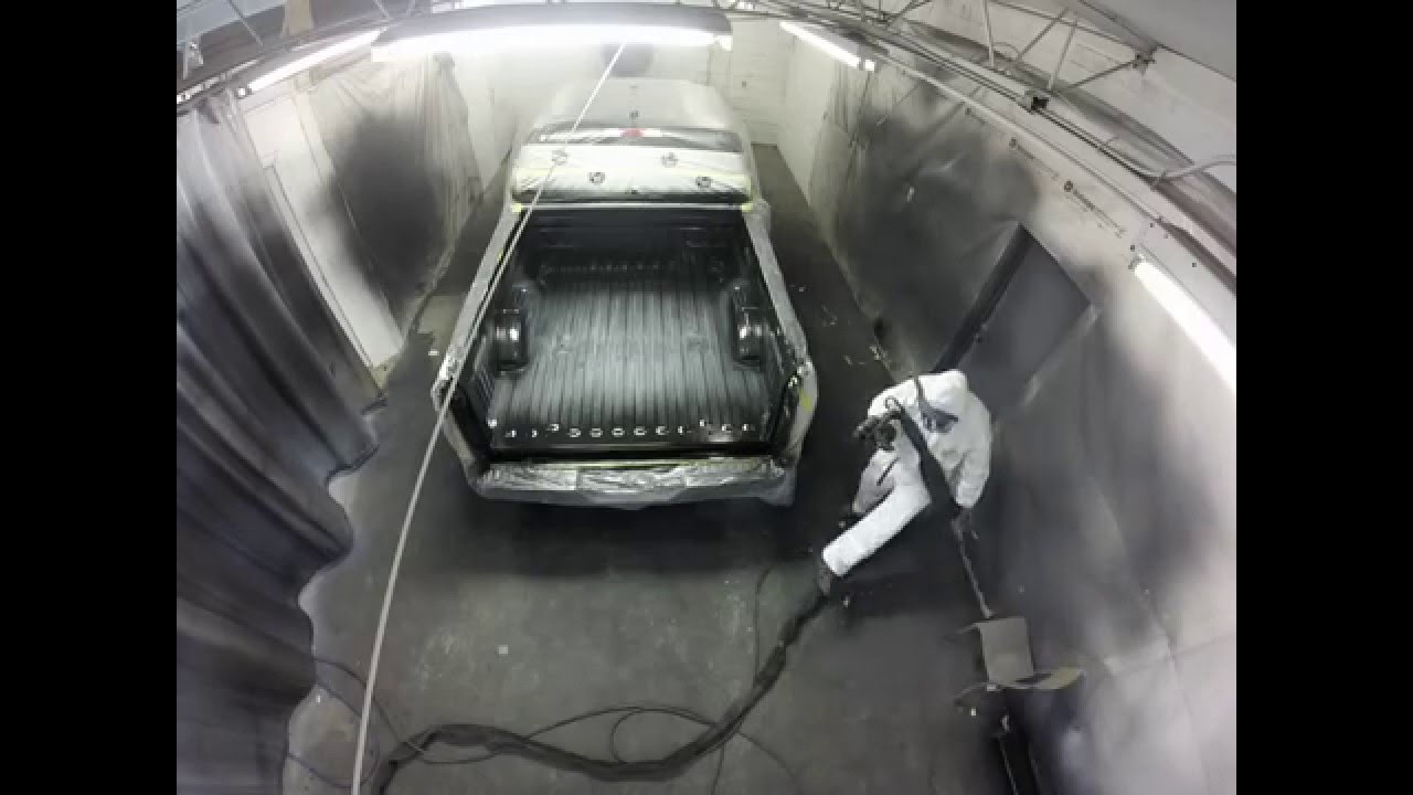 Rhino Liner Spray In Bed Liner How To Application Youtube