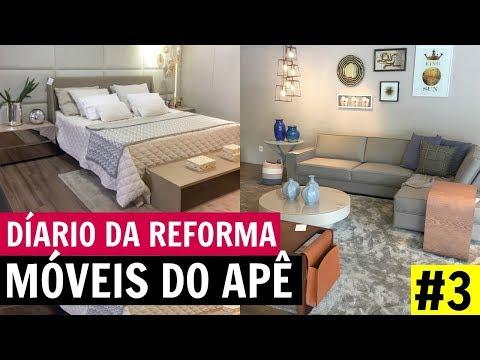 ESCOLHENDO OS MÓVEIS PARA O APÊ NOVO - DIÁRIO DA REFORMA #3
