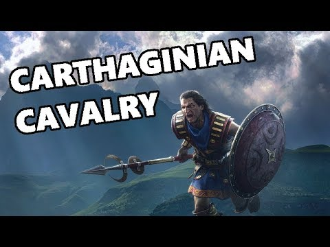 Total War Arena - Tier 6 Carthaginian Cavalry - Carthage Cavalry Guide - Hasdruble Gameplay