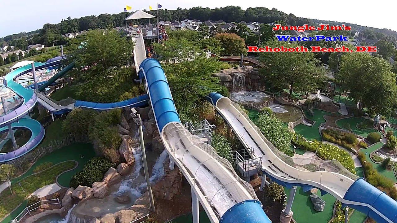 Jungle Jim S Waterpark Anaconda Slide Rehoboth Beach De