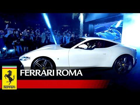 Ferrari Roma makes its Middle East Debut in Dubai