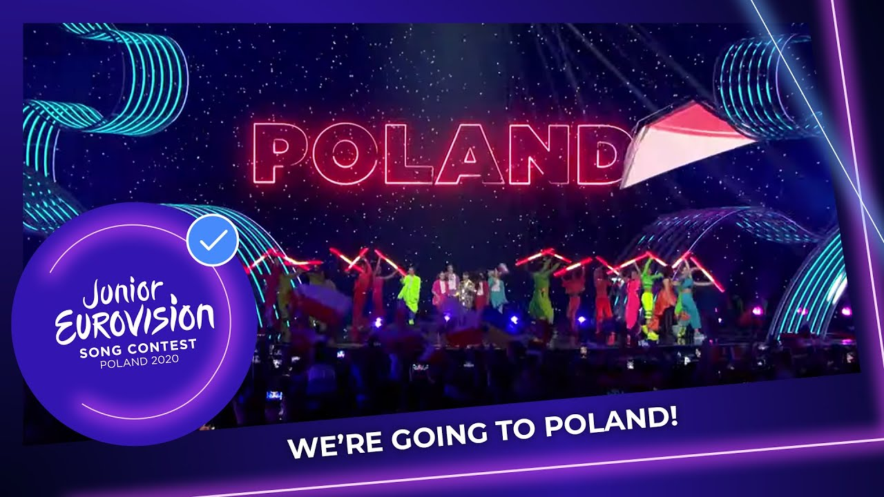 We're going back to Poland for the Junior Eurovision Song Contest 2020!