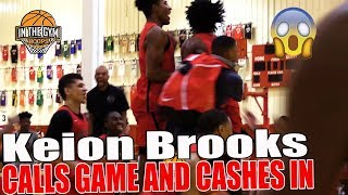 Keion Brooks CALLS Game | Indy Heat Crazy 16 point Comeback To Win GRBA Championship