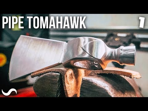 MAKING A PIPE TOMAHAWK!!! - YouTube
