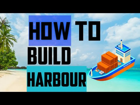 TheoTown Tutorial|How To Build Harbor 🚢🚢