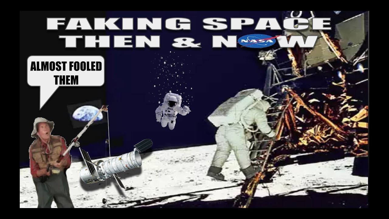 FAKING SPACE THEN & NOW (WARNING! EXTREME DECEPTION) - FAKING SPACE THEN & NOW (WARNING! EXTREME DECEPTION)