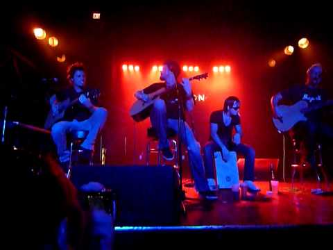 Crossfade Deep End Acoustic, Chameleon Club, Lancaster PA, concert 52811