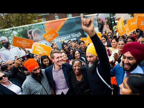 Jagmeet Singh on the campaign trail | Day 34