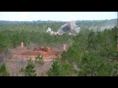 M777 Howitzer - Direct Fire and Indirect Fire by 1/117th Field Artillery
