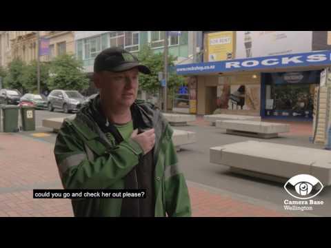 Wellington CCTV volunteers