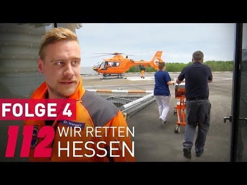 112 Wir retten Hessen (4/6) Ärzte, Notärzte, Notfallsanitäter und die Berufsfeuerwehr im Einsatz
