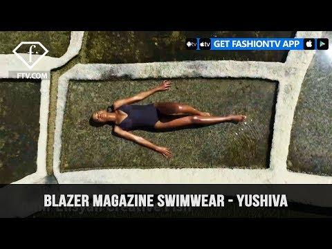 Blazer magazine Swimwear – Yushiva | FashionTV