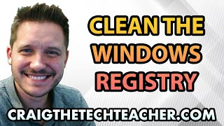 How To Clean The Windows 7 Registry Free - Ep. 30