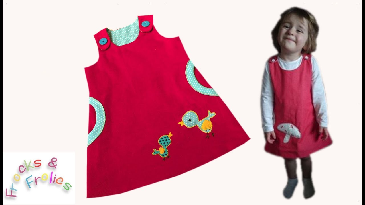 Pinafore Dress Mimi How To Sew A Dress Youtube