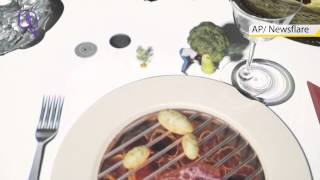 Amazing Fine Dining Projection Trick