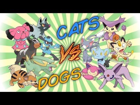 CATS vs DOGS - Pokemon Battle Revolution (1080p 60fps)