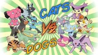CATS vs DOGS - Pokemon Battle Revolution (1080p 60fps)