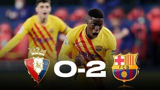 Osasuna Vs Barcelona [0-2], La Liga 2021 - MATCH REVIEW