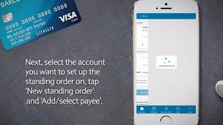 How to manage standing orders | Barclays Mobile Banking app