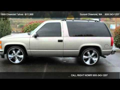 1999 Chevrolet Tahoe 2WD - for sale in SUMNER, WA 98390 ...