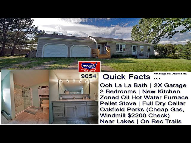 Home For Sale  | Maine Real Estate MOOERS REALTY 9054