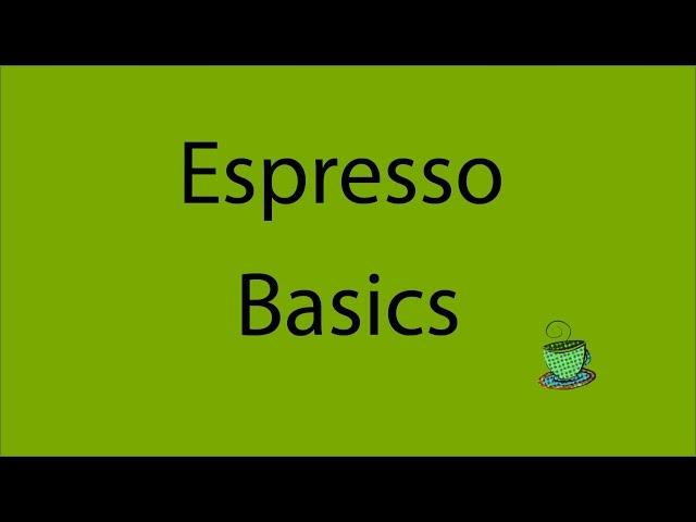 Espresso Basics Tutorial