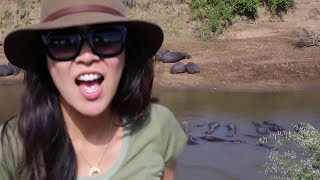 Kellie and Marc do Africa (YUP!)