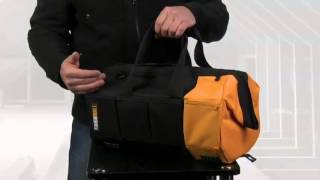 Toughbuilt Tool Bags -- Massive Mouth Opening -- Heavy Duty