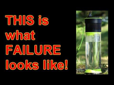 Self-Filling Water Bottle Anatomy of a scam-starter FAIL!