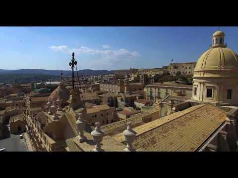 Noto, Sicily in 4K