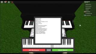 (Roblox Virtual Piano) HOKAGE FUNERAL – NARUTO/Sheets