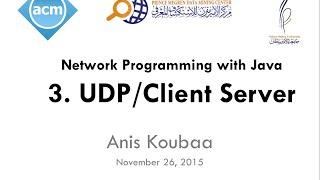 [Java Workshop Series] Java Network Programming : UDP Client/Server