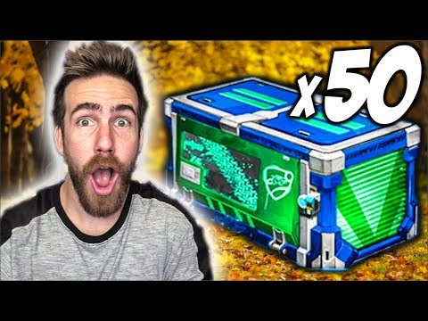 50 NEW IMPACT ROCKET LEAGUE CRATE OPENING!