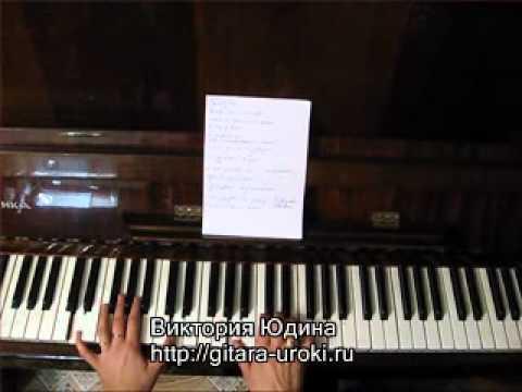 2. Уроки-гитара. Такт иззатакт на песнях Виктория Юдина