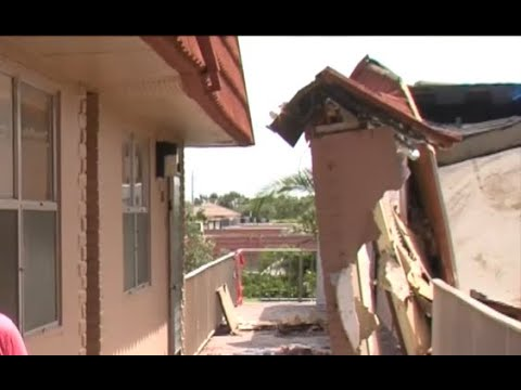 Hurricane Irma rips roof from Delray Beach apartment