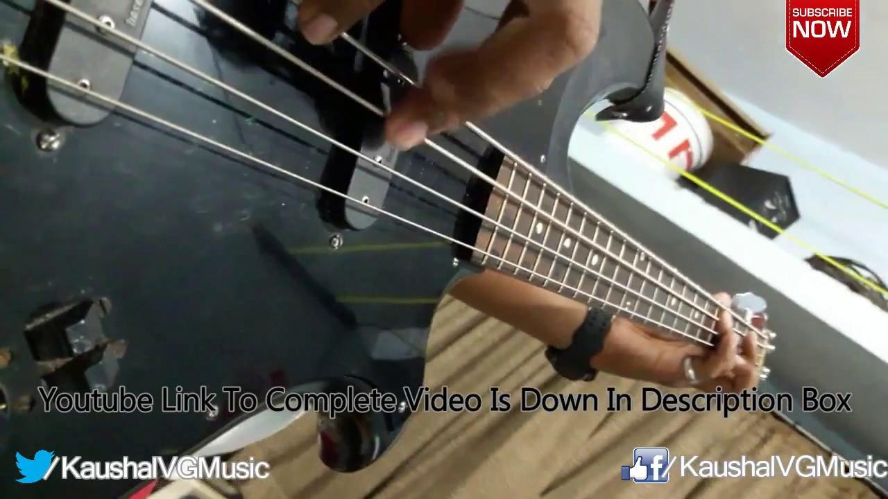 Aye Zindagi Gale Laga Le Arijit Singh Bass Guitar Cover Dear