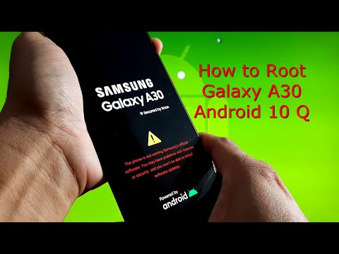 Samsung Galaxy A30: Root Galaxy A30 Android 10, Fixed vbmeta Error