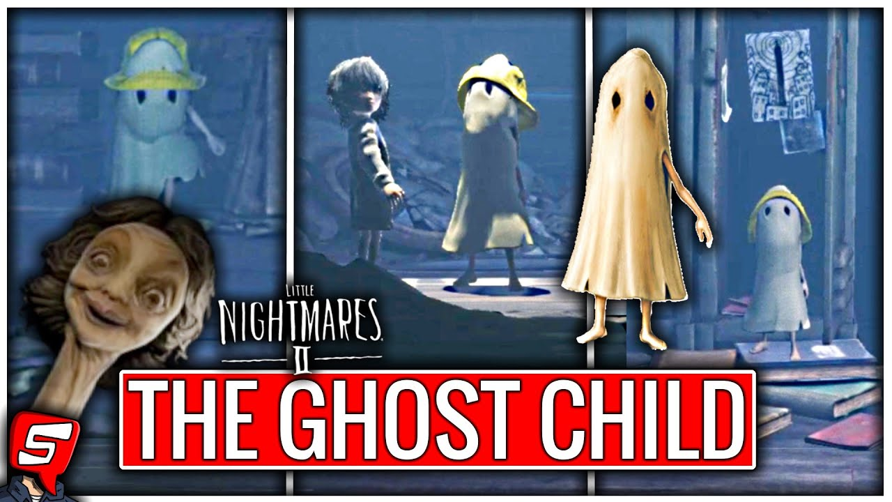 Playing as Ghost Kid (Little Nightmares 2 DLC Ghost Kid Mod) Little Nightmares 2 Ghost Kid in School