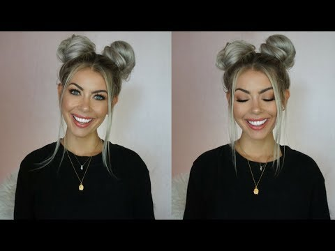 quick-easy-space-buns-tutorial-|-brittanynichole