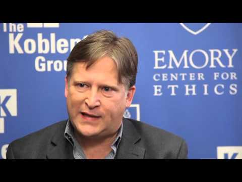 A Conversation with Dr. Paul Root Wolpe, Director of The Emory Center for Ethics