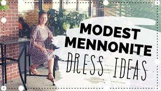 How To Sew a Dress with Just 2 Seams and a Hem | Mennonite Dress Tutorial
